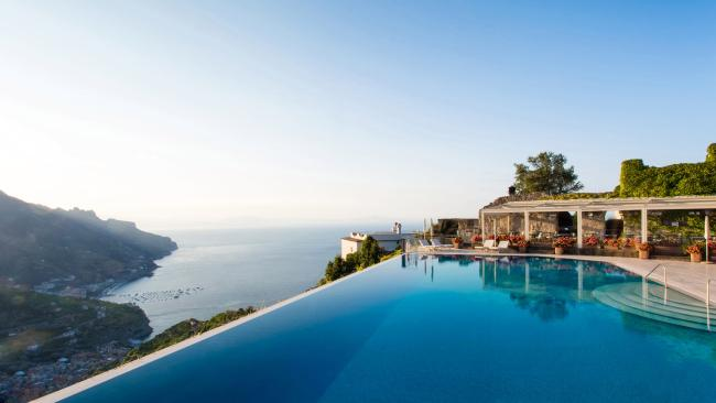 8/12Belmond Hotel Caruso, Amalfi Coast In Ravello - a town packed with ultra exclusive hotels – the Belmond Hotel Caruso pretty much tops the list. Its pool alone would qualify as iconic. It sits 1000 feet above sea level with views over a quintessentially Mediterranean cove and a chilling chianti is never far away.