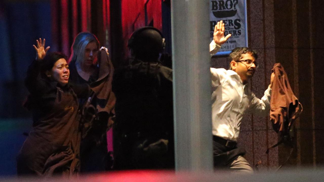 Hostages Flee Sydney Cafe Just Before Siege