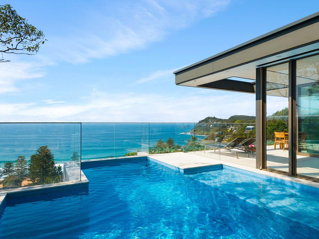 Trophy home — 12 Morella Rd, Whale Beach is for sale with a price guide of $8 million-$8.5 million.