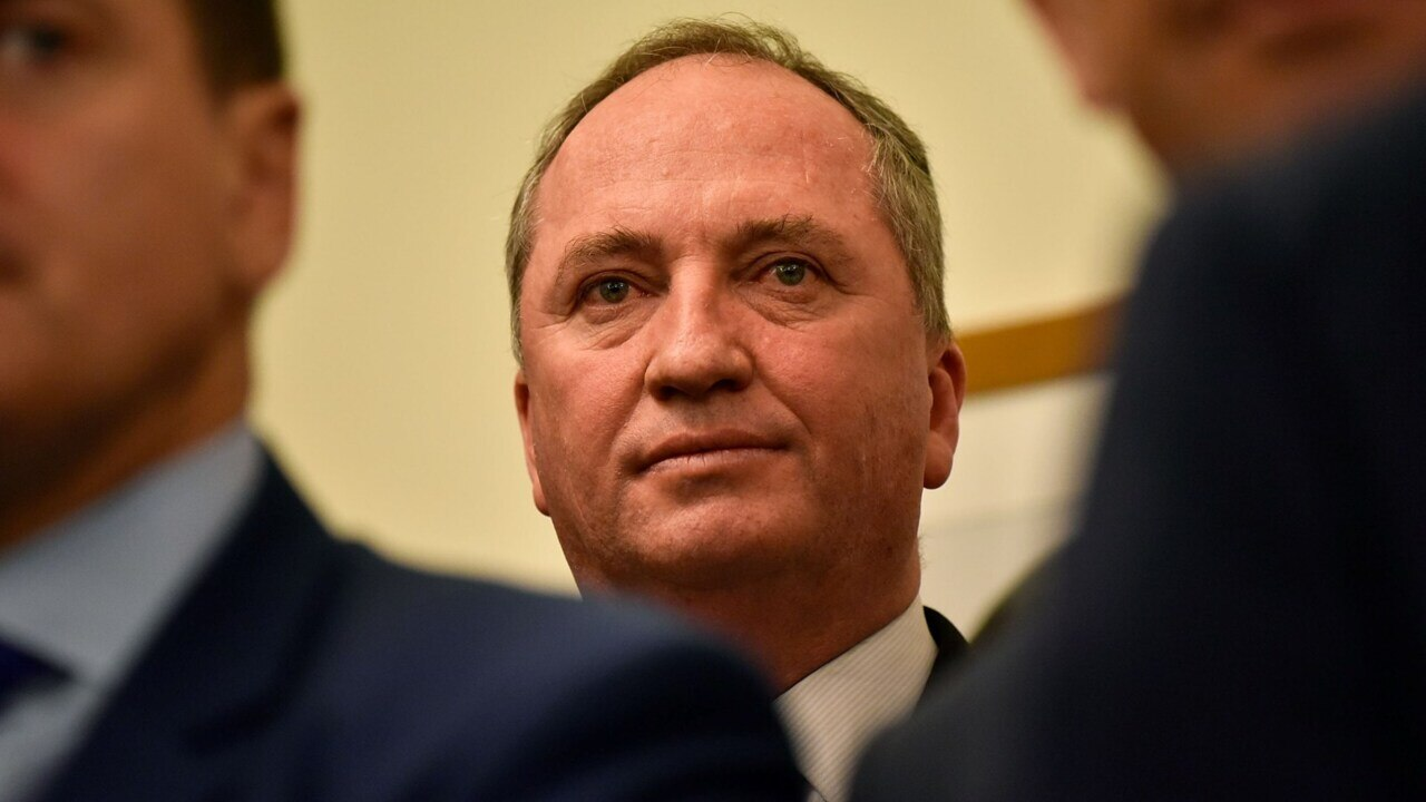 Barnaby Joyce raises privacy concerns over COVID-19 tracing app