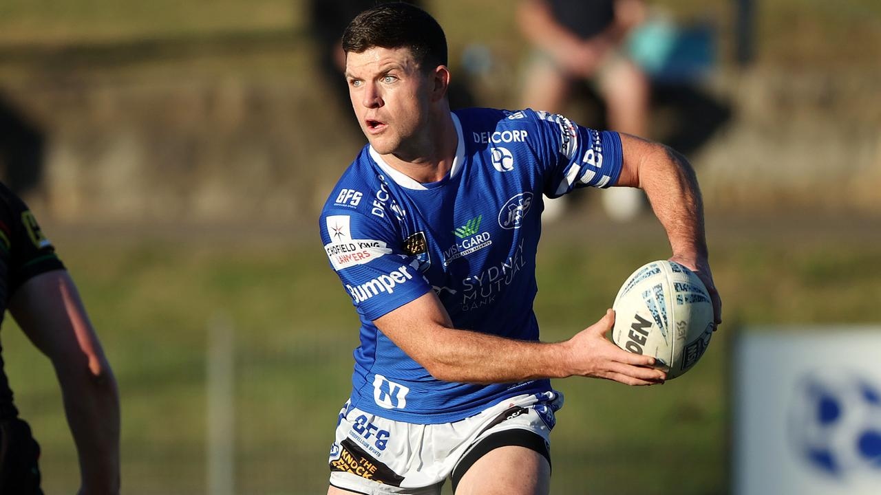 Chad Townsend has been played reserve grade for the Newtown Jets. Picture: Tim Hunter.