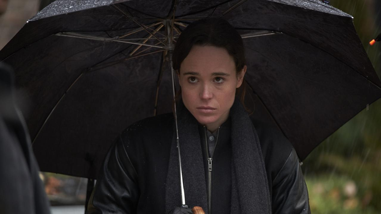 Elliot Page in The Umbrella Academy.