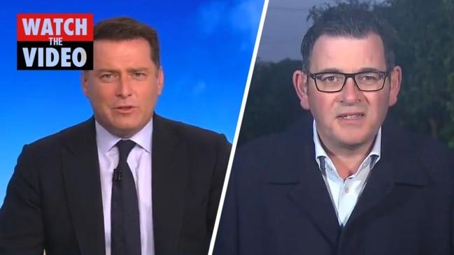 Karl Stefanovic slams Daniel Andrews over 'catastrophic bungle' (Today Show)
