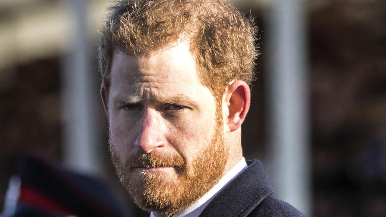 Prince Harry complained that those who peddle in lies and fear are creating vaccine hesitancy. Picture: Richard Pohle / Pool / AFP