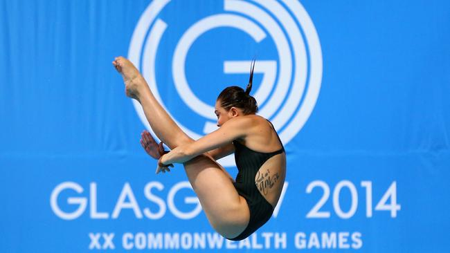 Melissa Wu bombed out of the Women's 10m Platform.
