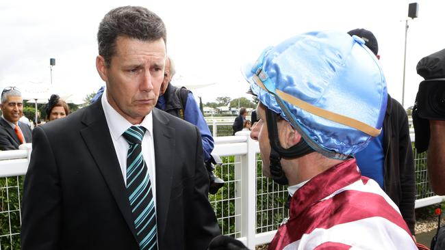 Trainer Darren Bell is devastated by the Strangles outbreak. Picture: Darren England.