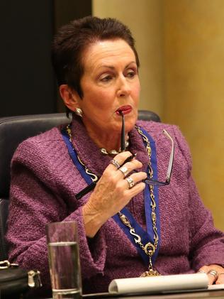 Clover Moore hit back at Premier Gladys Berejiklian.