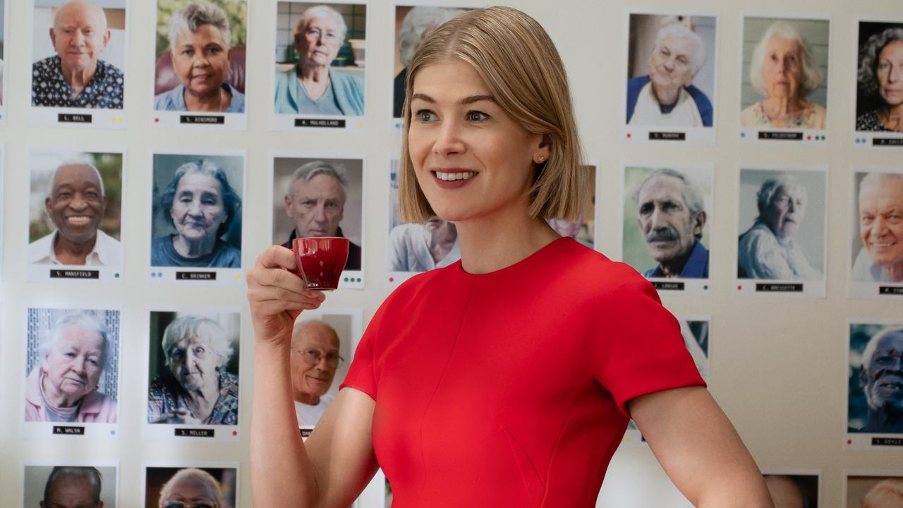 Unleashed Rosamund Pike is the best Rosamund Pike.