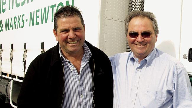 Brothers Mark and Tony Capobianco set up their first store together in 1978. (This picture was supplied to the <i>Advertiser</i> in 2010.)