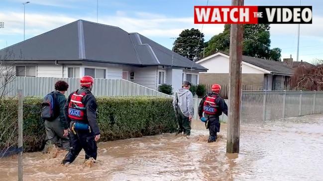 Residents near Traralgon Creek are evacuated
