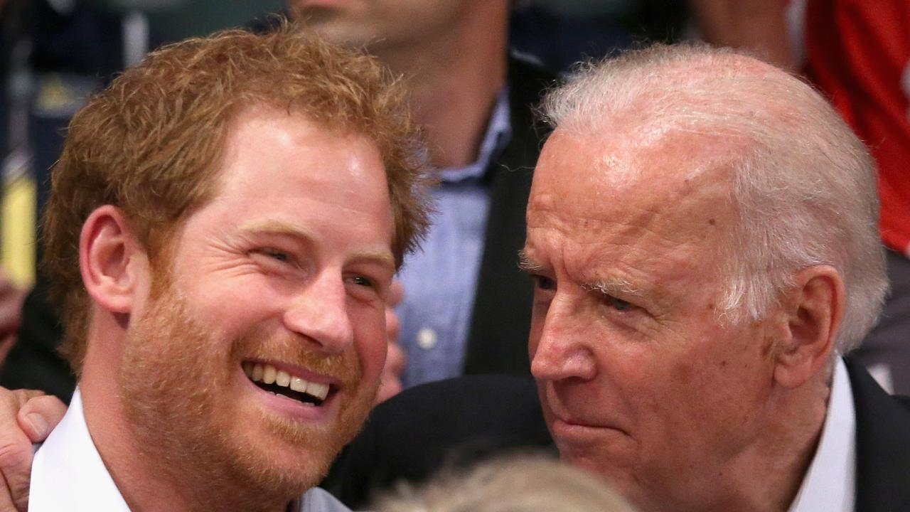 Prince Harry didn't comment on close friend Joe Biden's decision to pull troops out of Afghanistan.