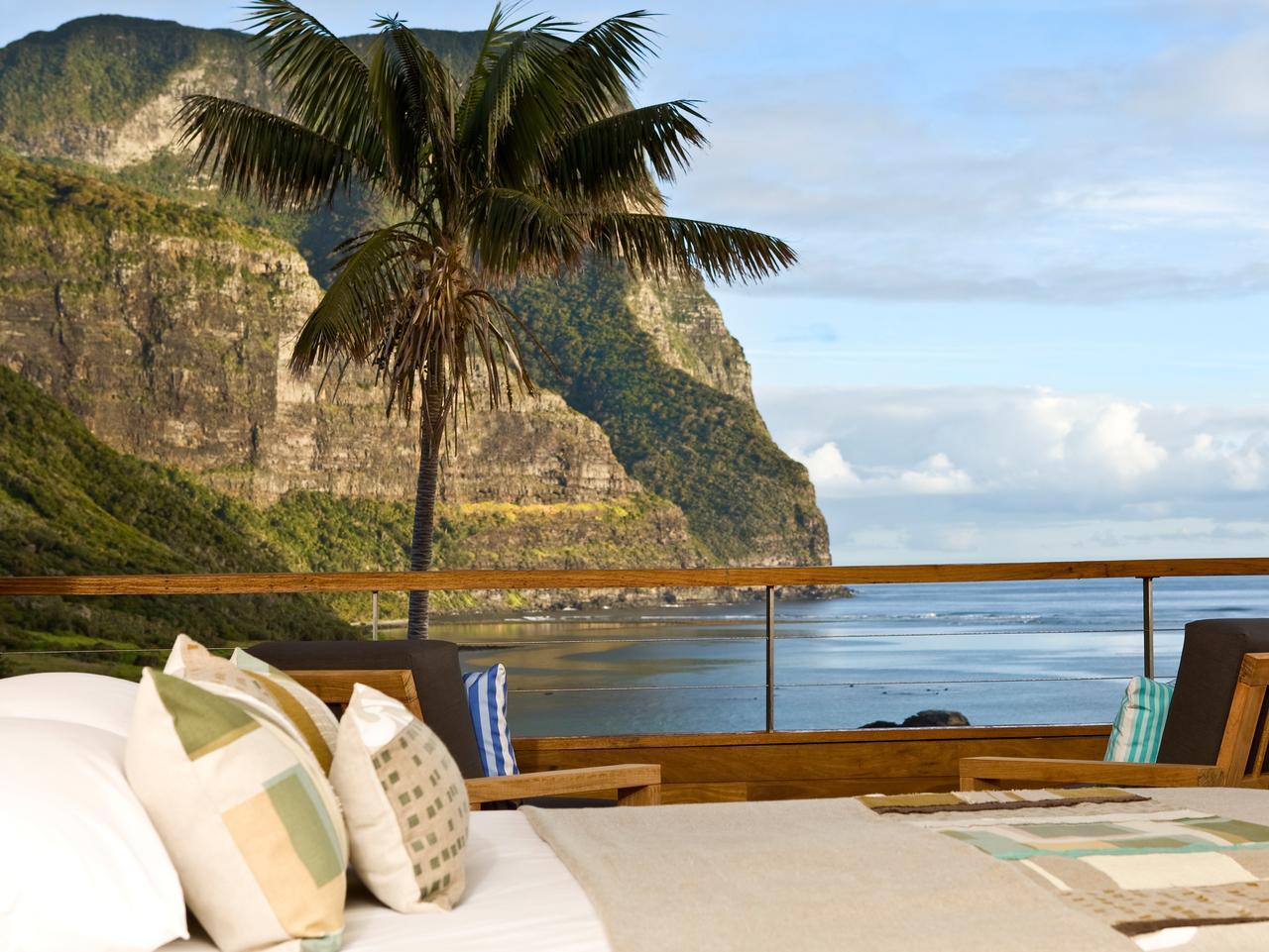 Capella Lodge, Lord Howe Island. Picture: Tourism Australia