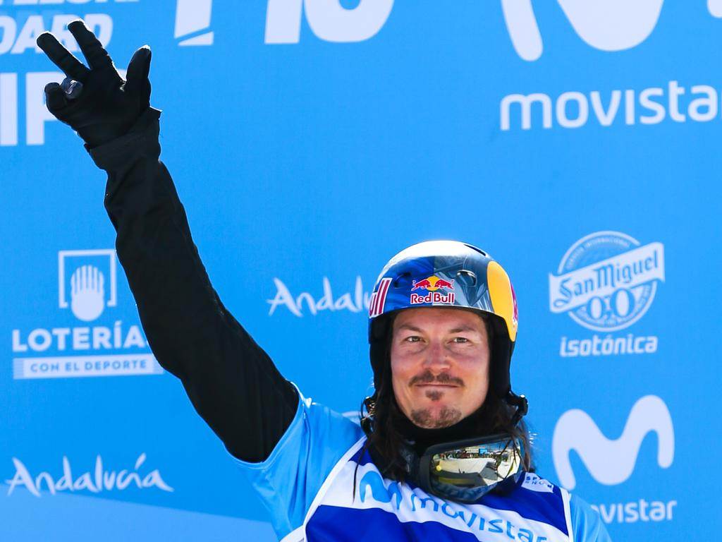 He won the bronze medal during the FIS Freestyle Ski and Snowboard World Championships Snowboardcross in Spain. Picture: Laurent Salino/Getty Images