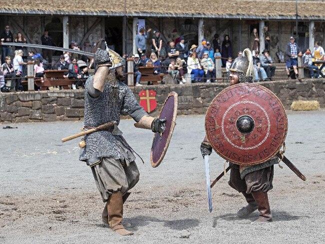 TIMELINE FESTIVAL, BALLARAT, VICTORIA Hundreds of historical reenactors from Ancient Greece through to World War II come together at Kryal Castle near Ballarat. hyphen8.com.au/timeline