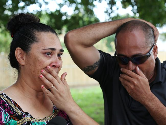 Neighbours Lucy and Lency Piva could not comprehend what had happened on their doorstep.