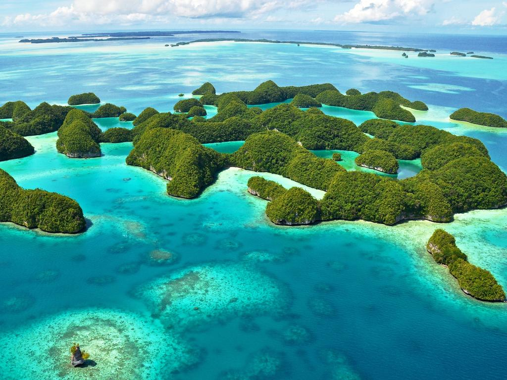 The stunning island nation of Palau. Picture: iStock