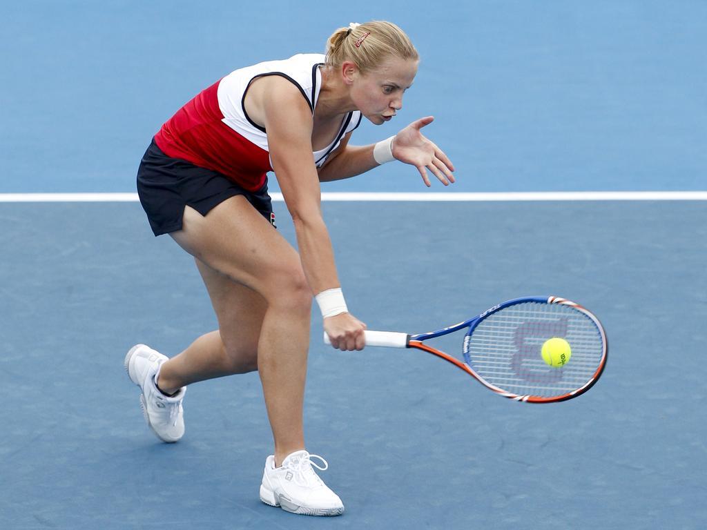 Jelena Dokic at the 2011 Australian Open.