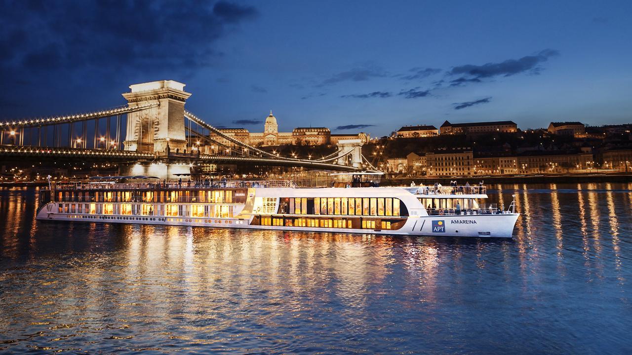 River ship AmaReina on the Danube.
