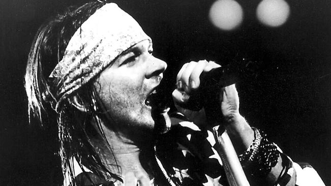 Trouble lover ... Axl Rose managed to offend multiple people within one song.
