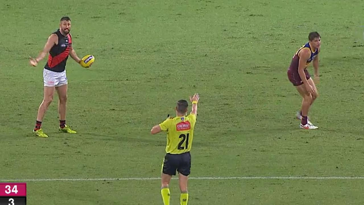 Did Cale Hooker trick the umpire?
