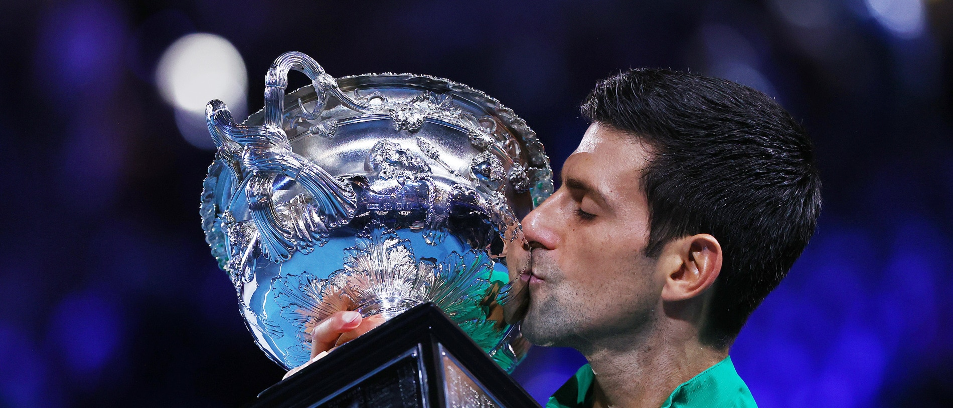 Novak Djokovic is the true King of the Australian Open.