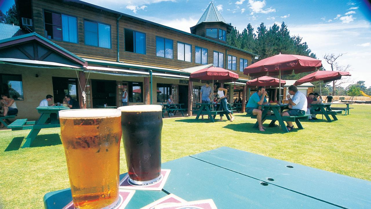 Bootleg Brewery is one of the craft breweries in the Margaret River Wine Region. Picture: Tourism Western Australia