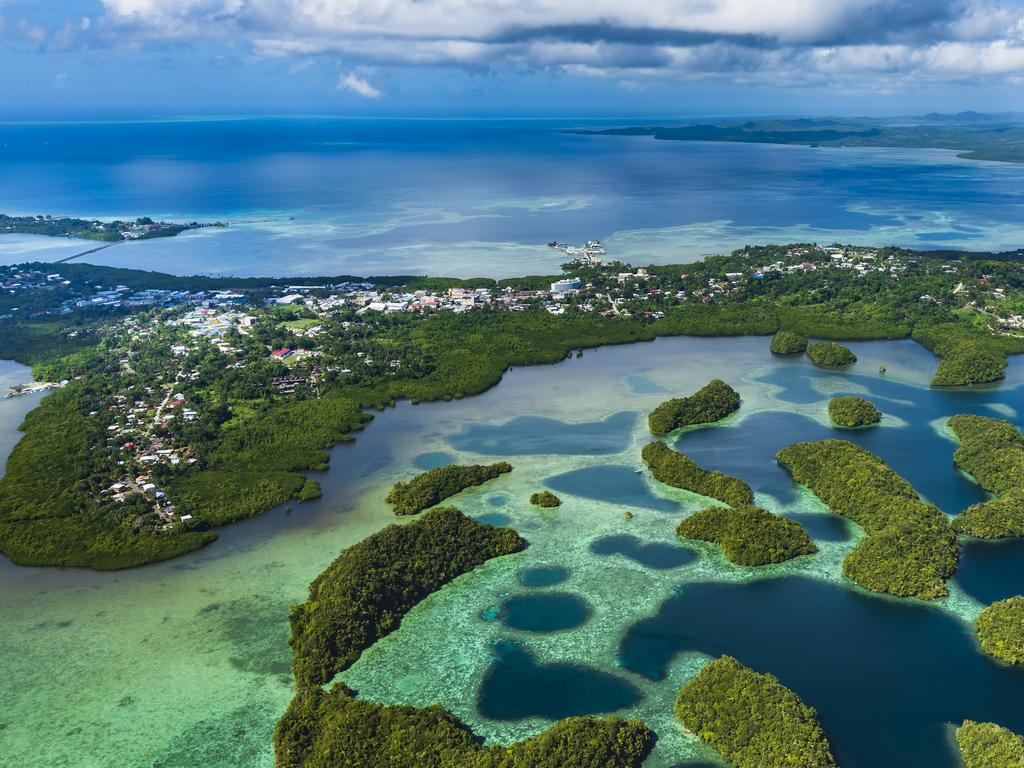 The tiny Pacific island nation of Palau is the first country to ban sunscreen that contains toxic reef chemicals. Picture: iStock