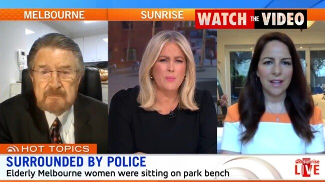 Sam Armytage fires up at Victoria Police after elderly women threatened (Sunrise)