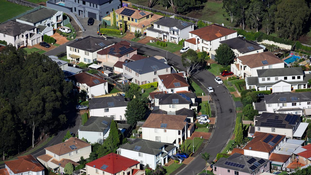 Price rises are bigger in outer suburbs and regional areas than inner-city areas. Picture: NCA NewsWire / Gaye Gerard