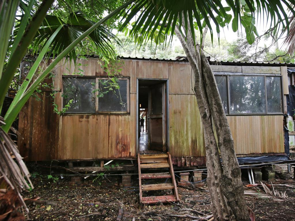This 'dilapidated' house in the Inner Western Sydney suburb of Lilyfield recently sold for $1.85m. Picture: Toby Zerna.