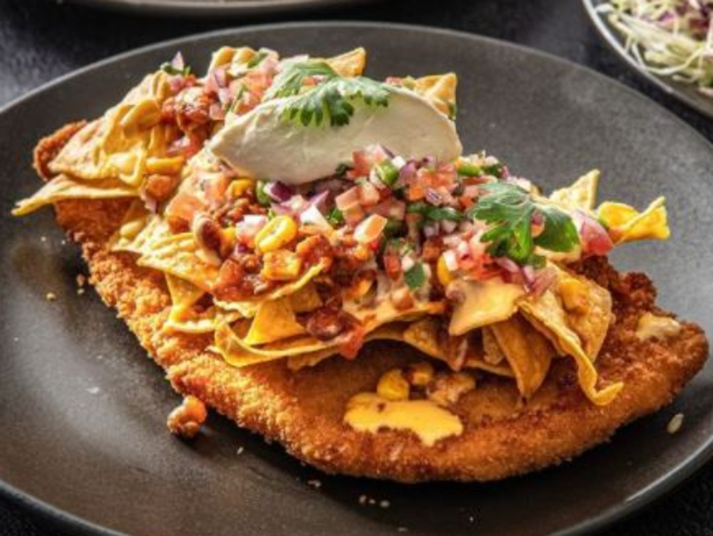 The Mexican schnitzel will be sold for $10 on Wednesdays during the festival. Picture: The Bavarian