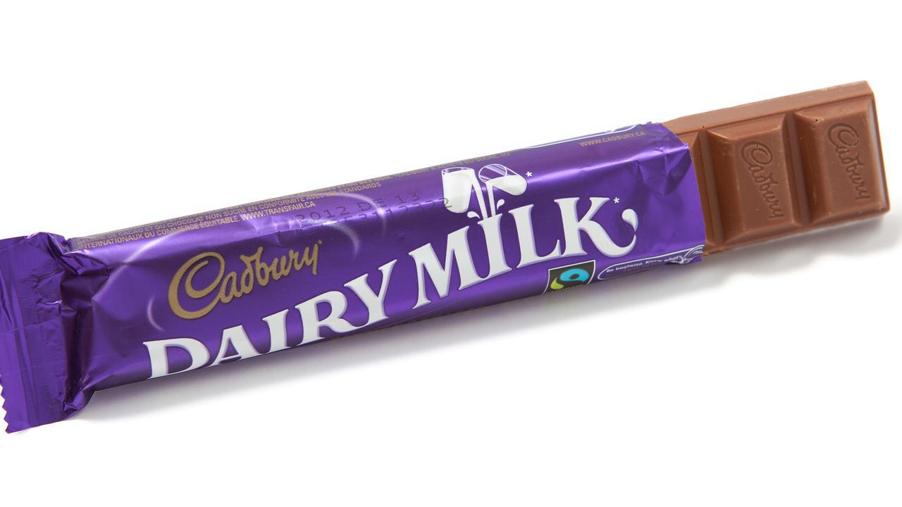 Old faithful, the Dairy Milk bar.