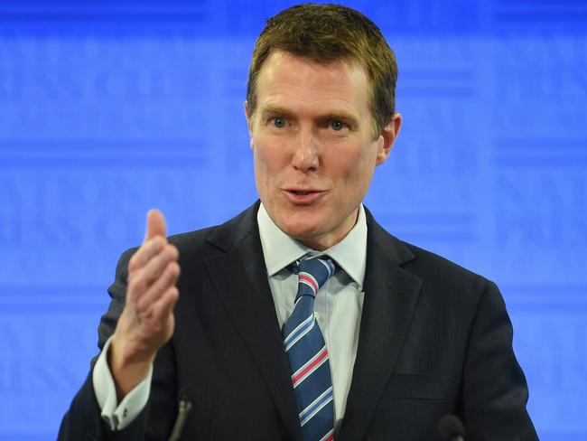 Federal Minister for Social Services Christian Porter says for too many Australians the money flows but nothing changes. Picture: AAP