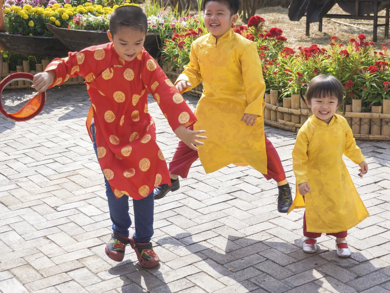 Children wearing traditional Vietnamese costumes. Picture: iStock
