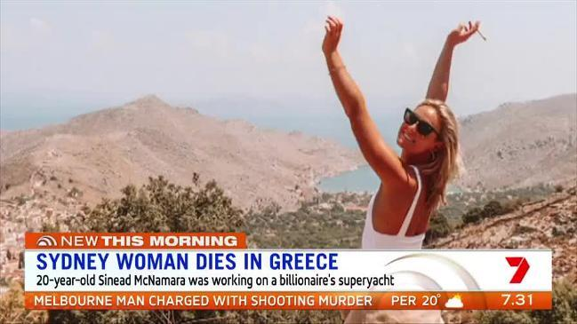 The mystery over what happened to an Australian model found dead ( Sunrise )