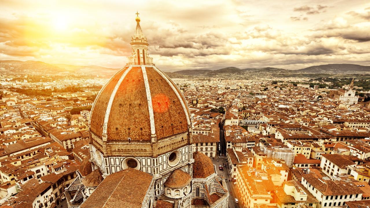 The Basilica di Santa Maria del Fiore, known as Il Duomo, in Florence.