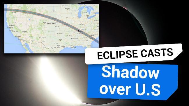 Solar eclipse casts a shadow over the U.S