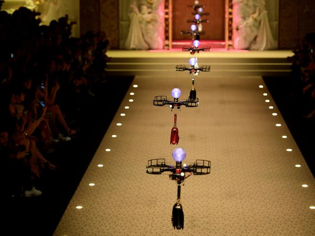 Who needs models? Not D&G. Picture: AFP