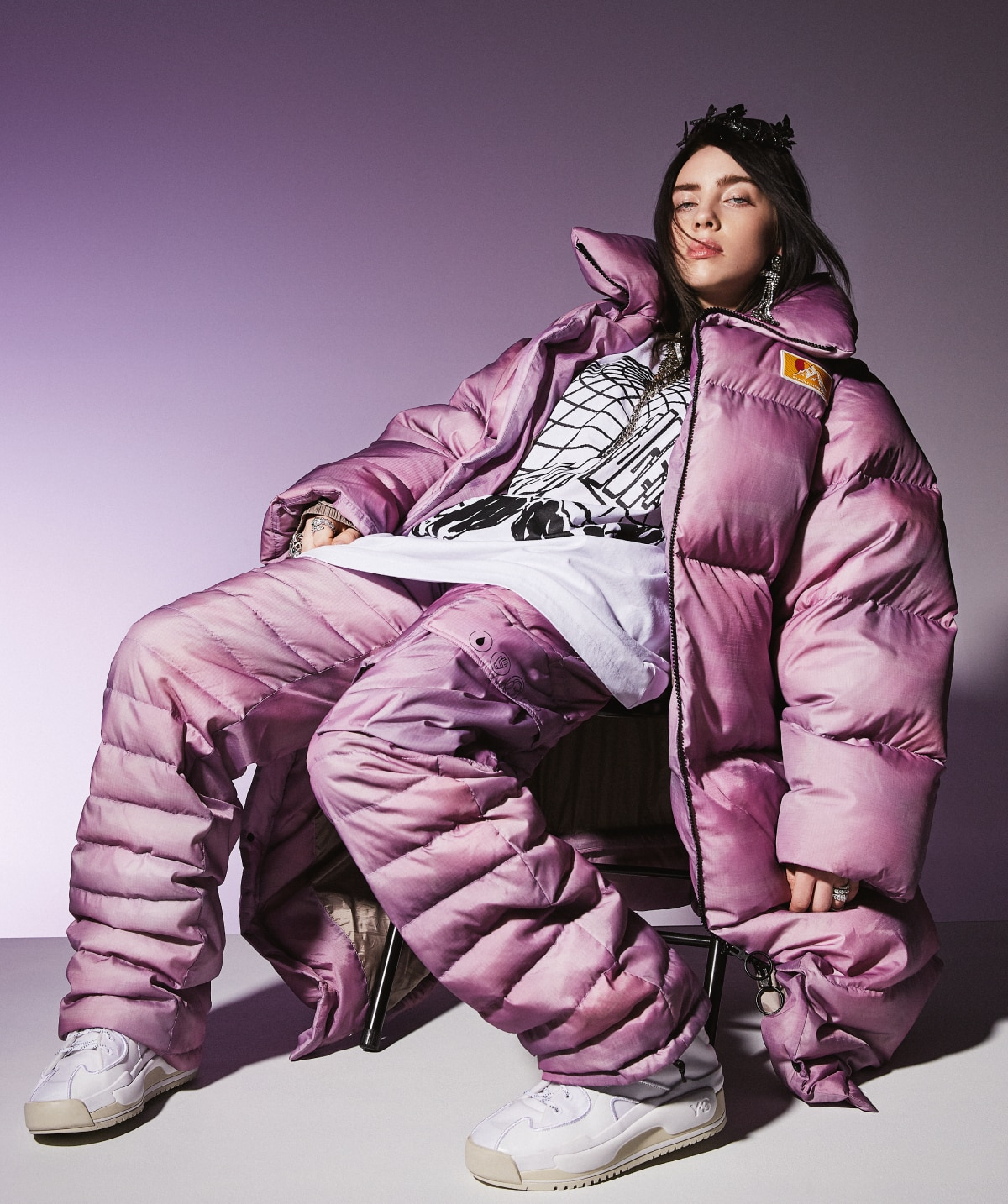 Billie Eilish on her love of fashion and why she opts for oversized styles