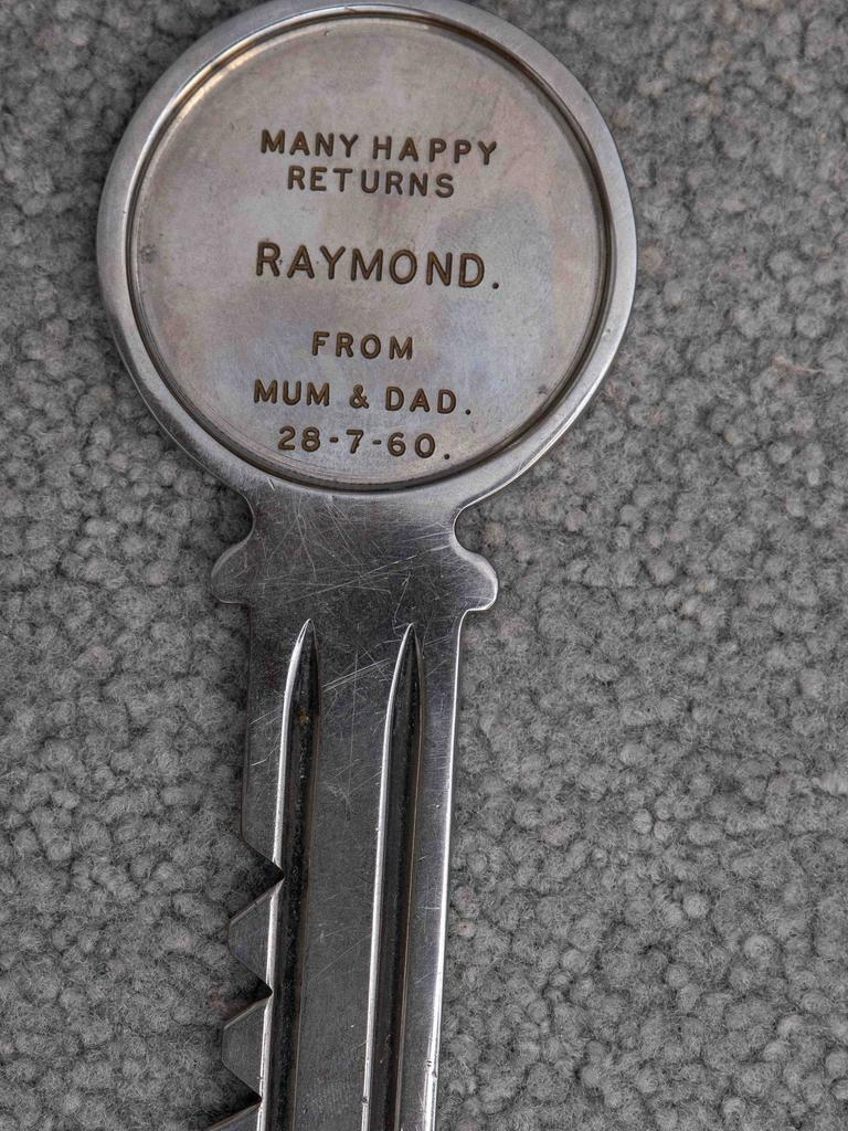 When Mr O'Keefe turned 21 and he was gifted a large brass key with July 28 engraved on it.