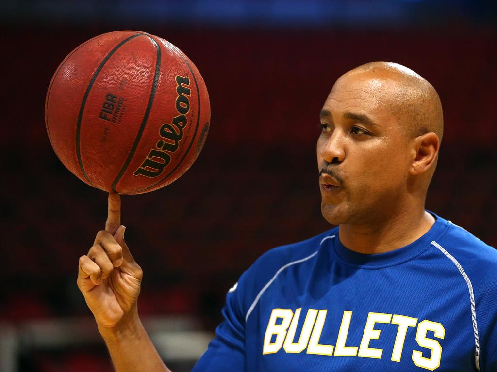 CJ Bruton won six NBL championships as a player and he is keen to transfer that success to the coaching stage. Picture: AAP Image/Jeremy Ng.