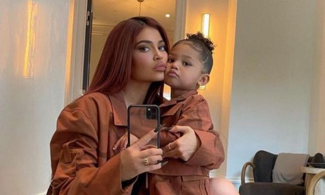 Kylie Jenner's two-year-old is a snowboarding pro in video
