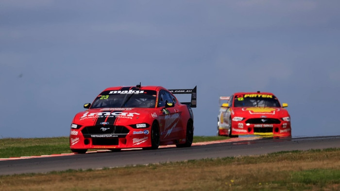 Will Davison topped the pre-season test at The Bend. Pic: Supercars