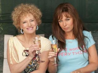 Everybody have a little boy and calm down. Image: 'Kath & Kim'