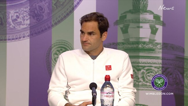 """I will try to forget"": Federer's post-match Wimbledon press conference"