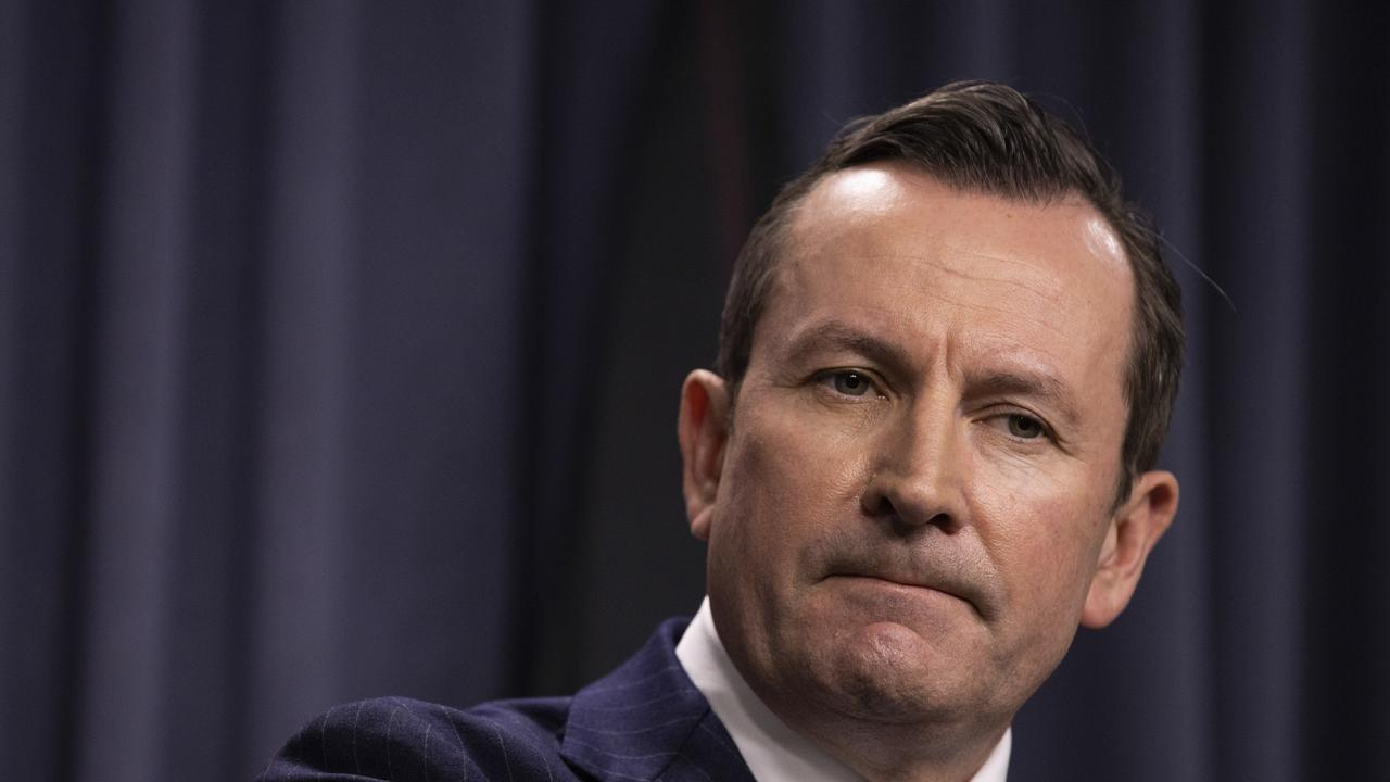 Mr McGowan's tough border stance is hugely popular among West Australians, earning him approval ratings as high as 91 per cent. Picture: Matt Jelonek/Getty Images