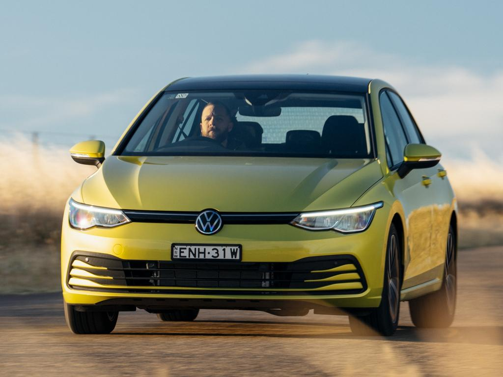 Launched in 2021, the VW Golf Life Mark 8.