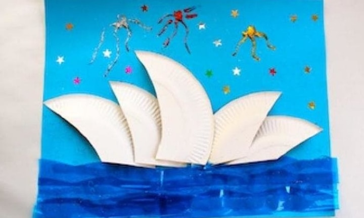 How to make a Sydney Opera House collage
