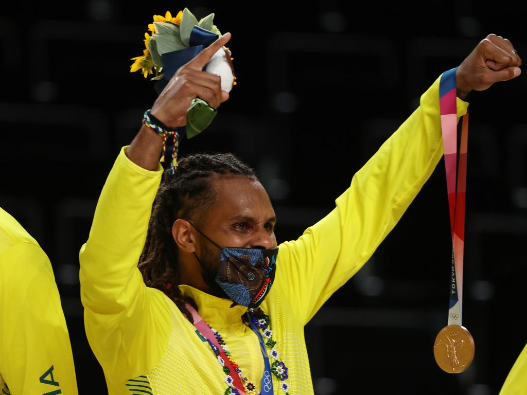 Patty Mills guided the Boomers to their first Olympic medal.