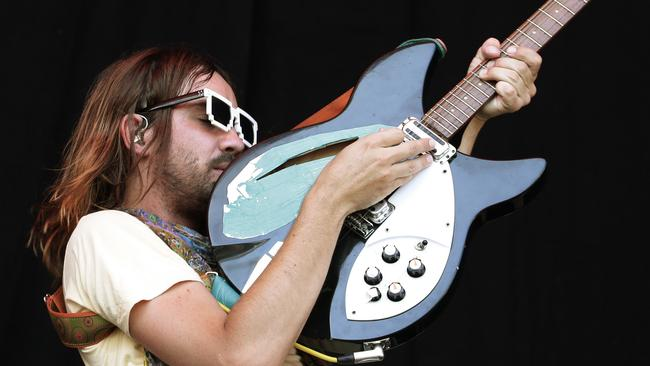 Special guest ... Tame Impala's Kevin Parker feature on three tracks on the chart-topping Uptown Special record. Picture: Luke Marsden